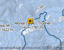Map: Naturpark Trudner Horn / Parco naturale Monte Corno