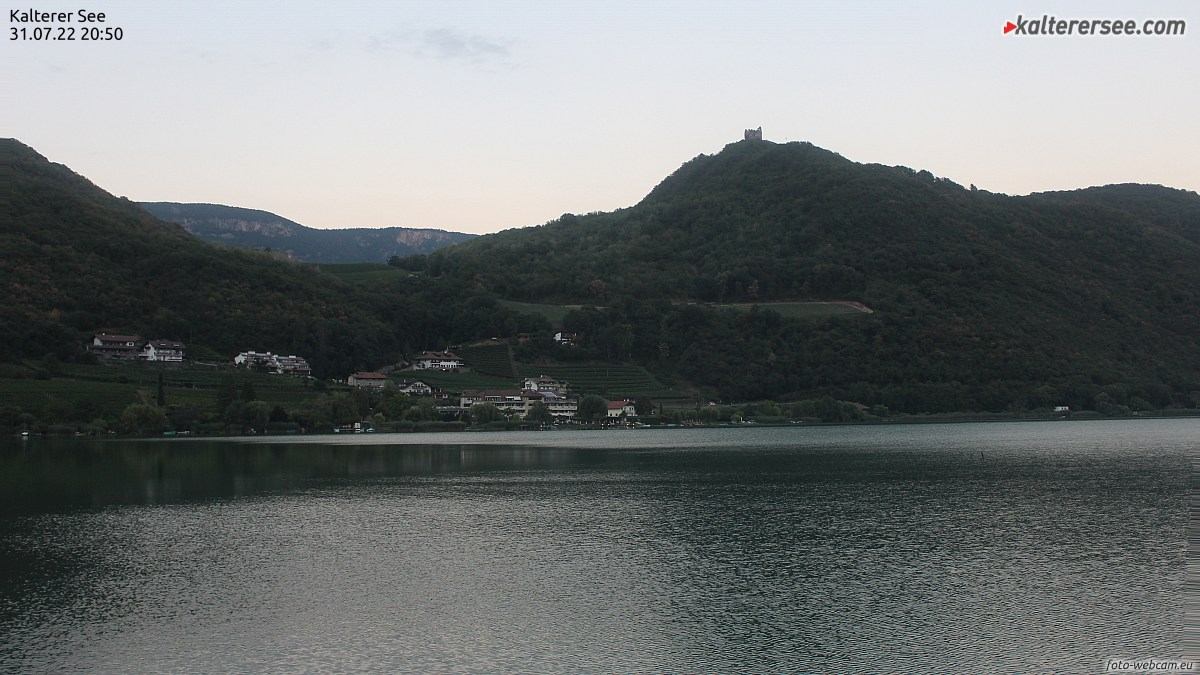 Webcam Lago di Caldaro