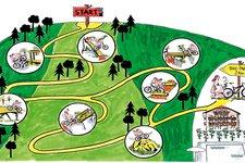 Rad Mountainbike -> Bikepark Tramin 2011