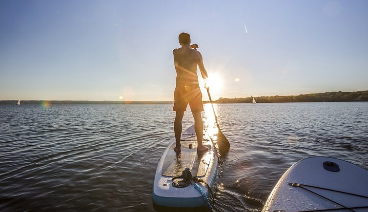Adobe Stock stand up paddling